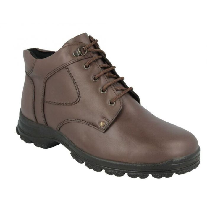 D.B. Wetherby Extra Wide Brown Boots