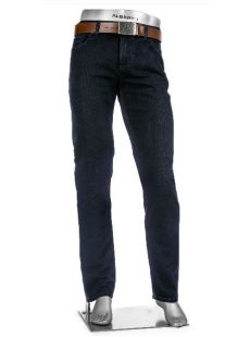 Alberto X-Tall Pipe Navy Jeans