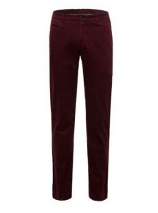 Brax X-Tall Fabio Burgundy Chino