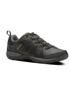 Columbia Woodburn Waterproof Black Shoe