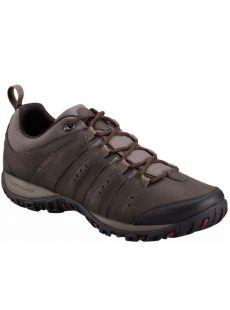 Columbia Woodburn Waterproof Brown Shoe
