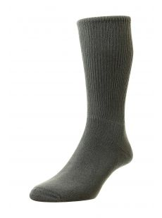 H.J. Hall Diabetic Grey Socks