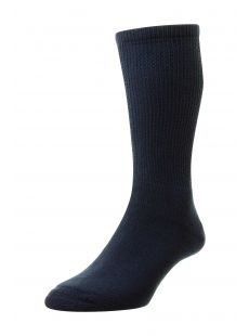 H.J. Hall Diabetic Navy Socks