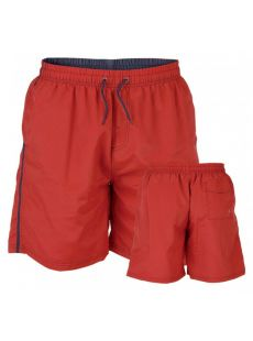 Duke Yarrow Red Swim Shorts