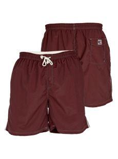 Duke Yarrow Maroon Swim Shorts