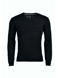 Hajo Black V-Neck Jumper