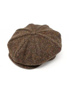 Hanna Hat Eight Piece Brown Cap