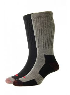 H.J. Hall 2 Pack Workwear Wool Sock