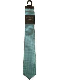 Hunter & Oak X-Long Green Print Tie