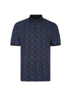 Kam X-Tall Fashion Print Polo Shirt