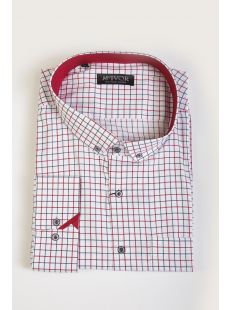 Mcivor Murphy Red Check Shirt