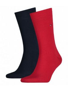 Tommy Hilfiger 2-Pack Red & Navy Socks