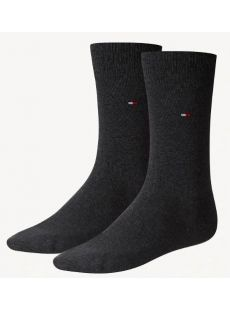 Tommy Hilfiger Charcoal 2-Pack Socks