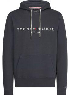Tommy Hilfiger Dark Heather Logo Hoodie