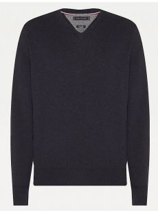 Tommy Hilfiger Navy Knit Jumper