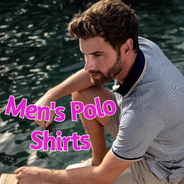 Men's Polo Shirts @Kingsize