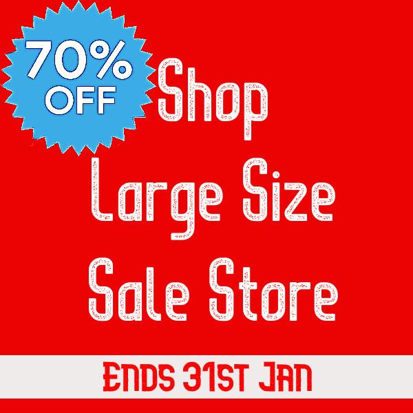 Large Size Sale store @Kingsize